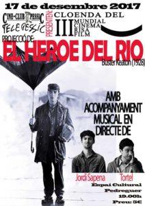 Mundial Cinema Risa Film: 'El heroe del rio' de Buster Keaton amb música en directe de Tòrtel i Jordi Sapena -Pedreguer- @ Espai Cultural de Pedreguer