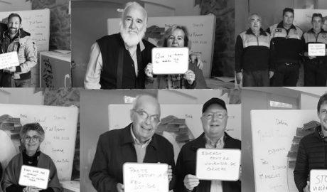 Las caras y las palabras de Ondara contra la violencia de género