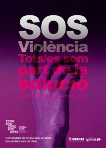 Campaña SOS Violència: manifest a favor de la igualtat i performance -Xàbia- @ Ajuntament, Xàbia