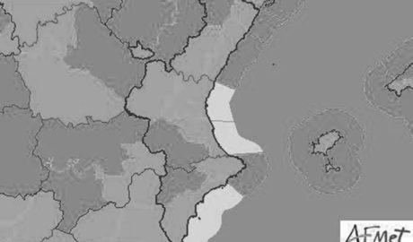 Decretada la alerta por temporal marítimo en toda la Marina Alta