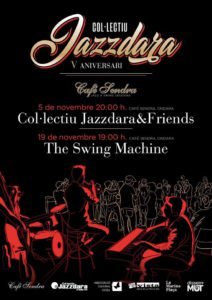 Swing: ball i concert de The Swing Machine -Ondara- @ Café Sendra, Ondara