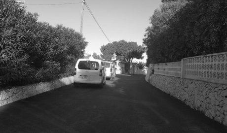 Xàbia invierte 370.000 euros en un nuevo plan de asfaltado