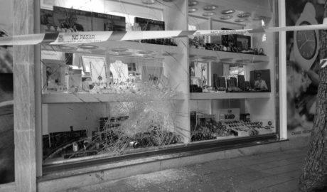 Detenido el autor del asalto a una joyería en la calle Campo de Dénia