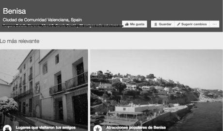Campaña en 'change.org' para que las redes sociales respeten el nombre oficial de Benissa y no lo castellanicen