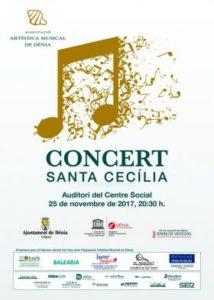 Concert de Santa Cecília de l'Agrupació Musical de Dénia -Dénia- @ Teatre Auditori del Centre Social, Dénia
