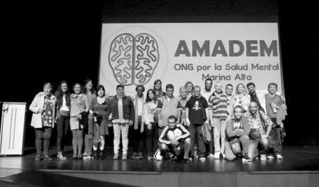 AMADEM presenta con éxito en Dénia su documental 'Cerca de la salut mental'