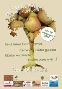 FestaFira del Perelló: fira, animacions infantils, senderisme, música, tallers gastronòmics -Vall d'Ebo- @ Vall d'Ebo