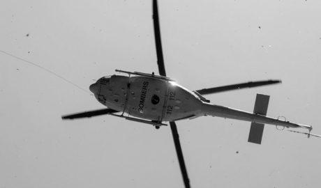 Rescatado en helicóptero un senderista holandés en el Montgó