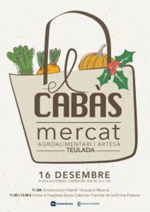 'Mercat El Cabàs': mercado agroalimentario de proximidad y artesano -Teulada- @ Casco antiguo de Teulada