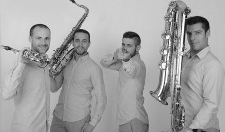 El cuarteto de saxo Púrpura Pansa llega al Auditori Teulada Moraira