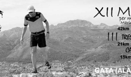 Gata ya lo tiene todo listo para la XII Maratón de Montaña Marina Alta