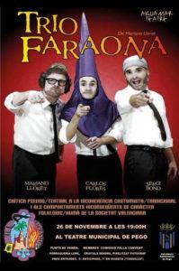 "Teatre: ""Trio Faraona"" per Aiguamar Teatre -Pego- @ Teatre Municipal de Pego"