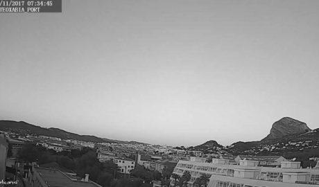 Ja no hi ha tardor al costat del Mediterrani: descensos de 6 graus en dos dies fiquen a la Marina Alta a l'hivern