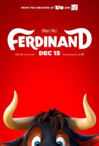 Cine: 'Ferdinand' Dir.: Carlos Saldanha -Calp @ Auditorio (Casa de Cultura Jaume Pastor i Fluixà), Calp