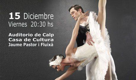 "Danza: el Ballet Ruso de Anna Ivanova presenta ""The best of Tchaikouski"" -Calp-"