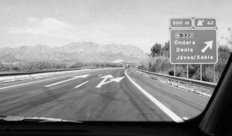 El peaje de la AP-7 subirá en 2018: Dénia-València costará 9,20 euros