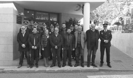 Huit municipis a una veu per la prevenció i la seguretat de la Marina Alta