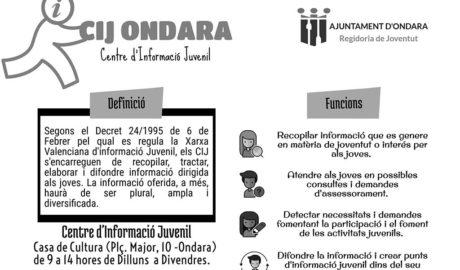 Ondara posa en marxa el Centre d'Informació Juvenil