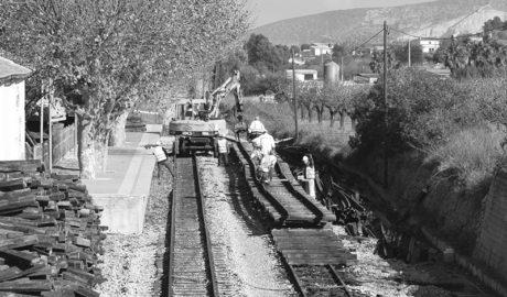 Cómo se gasta FGV los 15 millones destinados a la reparación de la vía Calp-Teulada del TRAM