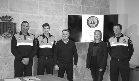 Xàbia reconoce las más de 11.000 horas que ha dedicado Protección Civil a emergencias este año