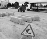 Dénia refuerza sus medidas antiterroristas blindando con barreras de hormigón la explanada de Torrecremada