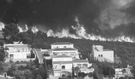 El Consell inclou a Benitatxell en les ajudes per pal·liar els danys de l'incendi de 2016