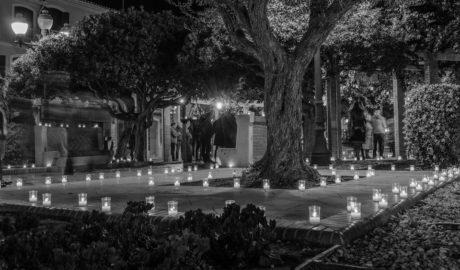 [LA FOTO EN LA RED] Dénia, también iluminada por las velas
