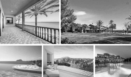 Quaranta milions de luxe en cinc cases de la Marina Alta