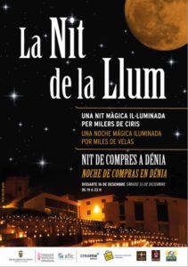 'La Nit de la LLum': noche especial de compras en el centro con villancicos, música... -Dénia- @ Centro de Dénia