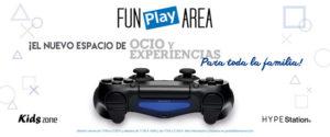 Ocio familiar: Fun Play Zone y HYPE Station® con Play Station en el Portal de la Marina -Ondara- @ Centro Comercial Portal de la Marina | Ondara | Comunidad Valenciana | España