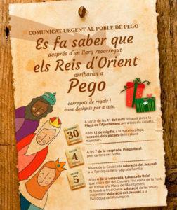 Festes: Pregó Reial -Pego- @ Pego