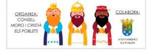 Festa de Reis: arribada de l'Ambaizador Reial i xocolatada-Els Poblets- @ Casa de Cultura, Els Poblets