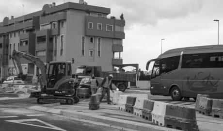 Obras en Joan Fuster: el paso de una avenida a la ronda sur de Dénia
