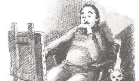 El alcalde de Xàbia que además de pintor fue escritor