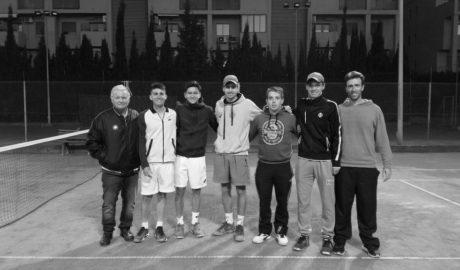 El tenis dianense, en lo más alto de la Comunitat Valenciana