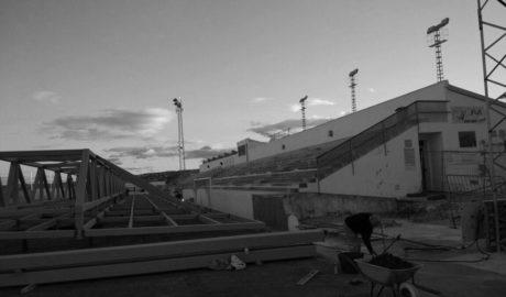 Xàbia tendrá las gradas de su campo de fútbol cubiertas a mediados de enero