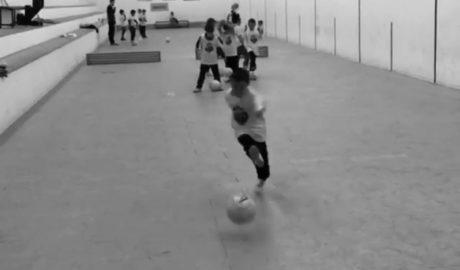 El campus de Navidad del Dénia Futsal se celebra pese a la crisis de la sección