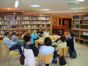 Xerrada sobre alimentació saludable per la pediatra Marta Sánchez -Gata de Gorgos- @ Biblioteca de Gata de Gorgos