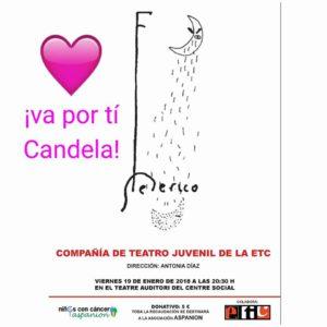 Teatro benéfico: 'Federico' por la Compañía Juvenil de la ETC de Dénia -Dénia- @ Teatre Auditori del Centre Social, Dénia