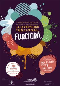 Presentación de 3 nuevas partes del documental 'Proyecto de diversidad funcional' Dir.: Pau Soler i actuación musical de actuación de Ivan Femeníay Blai Ibiza-Dénia- @ Espai Cultural de Pedreguer