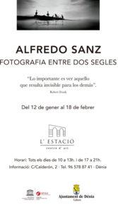 Exposició: 'Alfredo Sanz. Fotografies entre dos segles' -Dénia- @ Centre d'Art l'Estació, Dénia