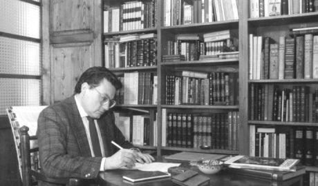 """Manuel Bas Carbonell, memorias de un """"apasionado"""" de los libros"""