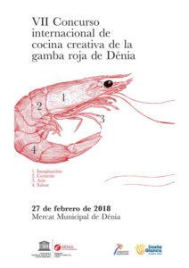 VII Concurso Internacional de Cocina Creativa de la Gamba Roja de Dénia @ Mercat Municipal de Dénia