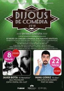 'Dijous de Comèdia': actuación de Manu Gorriz -Xàbia- @ Biblioteca de Duanes, Xàbia