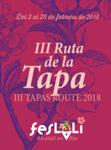 III Ruta de la Tapa 'Feslalí': Degustación de tapas, comidas y dulces con almendra como ingrediente principal -Alcalalí- @ Alcalalí, Vall de Pop | Alcalalí | Comunidad Valenciana | España