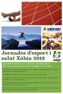 Jornades d'Esport i Salut: 'Consells nutricionals i ajudes ergogètiques en els esports de resistència' per Albel Escobedo -Xàbia- @ Casa de Cultura de Xàbia