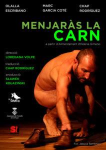 Teatre: 'Menjaràs la carn' de la companyia La Gavatxa -Pego- @ Teatre Municipal de Pego