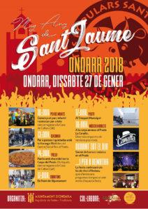 Festes: Mig Any de Sant Jaume -Ondara- @ Ondara