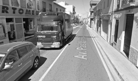 Benissa somia amb convertir l'actual N-332 en un bulevard comercial com el carrer Campo de Dénia