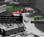 Investigacions recents apunten l'existència d'una vila romana baix les Cases Neptú enderrocades a Calp